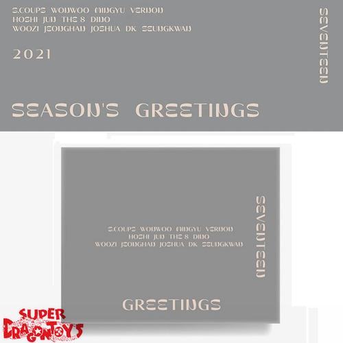 SEVENTEEN (세븐틴) - 2021 SEASON'S GREETINGS - [DESK CALENDAR + GOODIES] PACKAGE