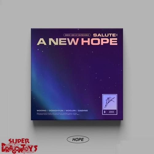 AB6IX (에이비식스) - SALUTE : A NEW HOPE - [HOPE] VERSION - 3RD [REPACKAGE] MINI ALBUM