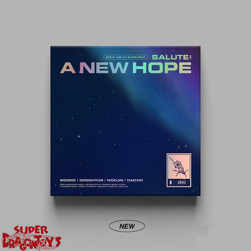 AB6IX (에이비식스) - SALUTE : A NEW HOPE - [NEW] VERSION - 3RD [REPACKAGE] MINI ALBUM