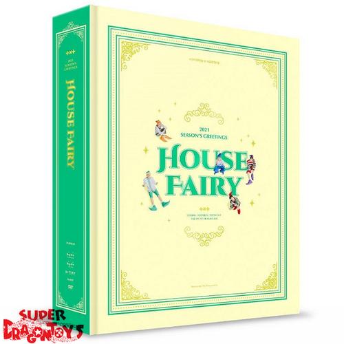 "TXT (투모로우바이투게더) - 2021 SEASON'S GREETINGS ""HOUSE FAIRY"" - [DESK CALENDAR + DVD + GOODIES] PACKAGE"