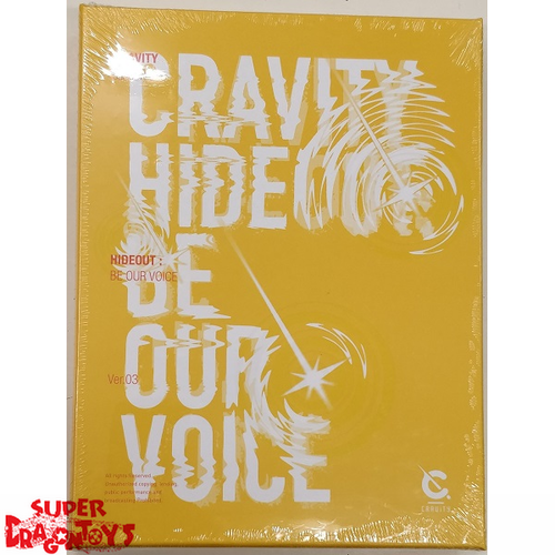 CRAVITY (크래비티) - HIDEOUT : BE OUR VOICE - [YELLOW / 3] VERSION - 3RD MINI ALBUM