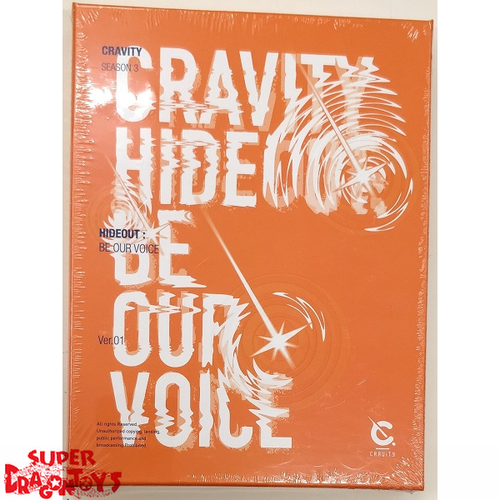 CRAVITY (크래비티) - HIDEOUT : BE OUR VOICE - [ORANGE / 1] VERSION - 3RD MINI ALBUM