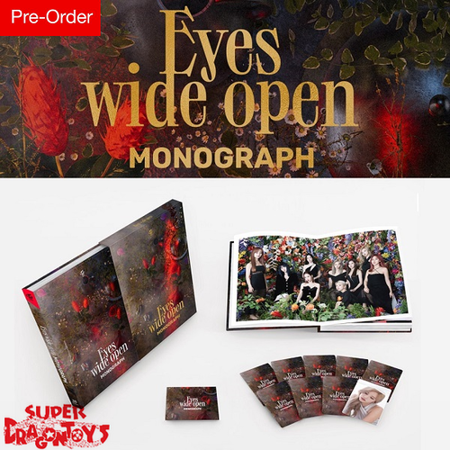 "TWICE (트와이스) - ""EYES WIDE OPEN"" MONOGRAPH - [LIMITED EDITION] PHOTOBOOK + PHOTOCARD SET"