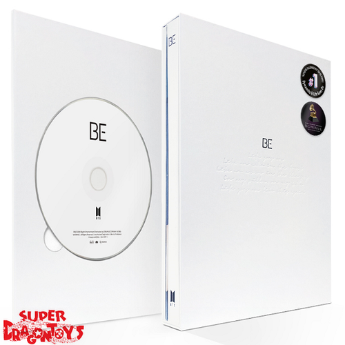 BTS (방탄소년단) - BE [ESSENTIAL EDITION] - KOREAN VERSION ALBUM + (ON-PACKED FOLDED) POSTER