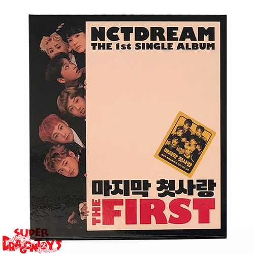 NCT DREAM (엔시티 드림) - THE FIRST - 1ST SINGLE ALBUM