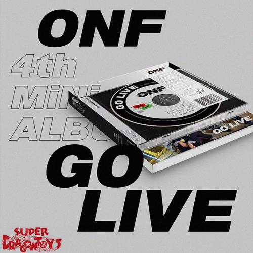 ONF (온앤오프) - GO LIVE - 4TH MINI ALBUM