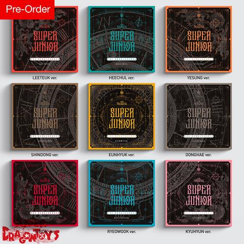 SUPER JUNIOR (슈퍼주니어) - THE RENAISSANCE - [THE SQUARE STYLE] VERSION - 10TH MINI ALBUM