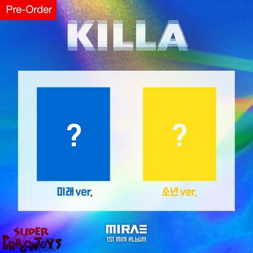 MIRAE (미래소년) - KILLA - 1ST MINI ALBUM + FREE OFFICIAL POSTER