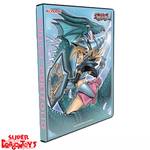 "YUGIOH TCG - PORTFOLIO ""DARK MAGICIAN GIRL / THE DRAGON KNIGHT"" (CARD BINDER)"