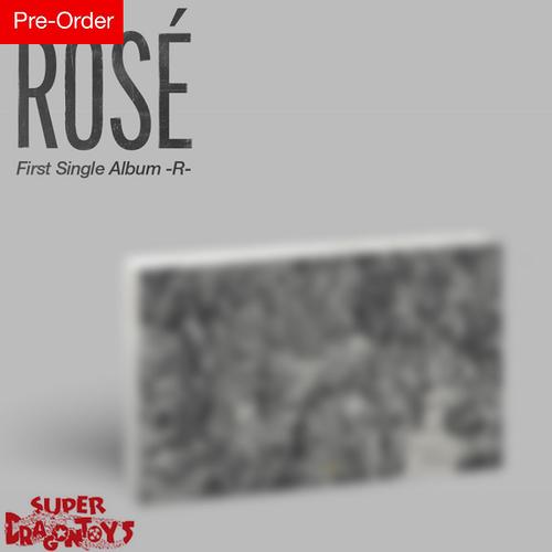 ROSE (로제) [BLACKPINK] - [-R-] - 1ST SINGLE ALBUM + FREE OFFICIAL POSTER