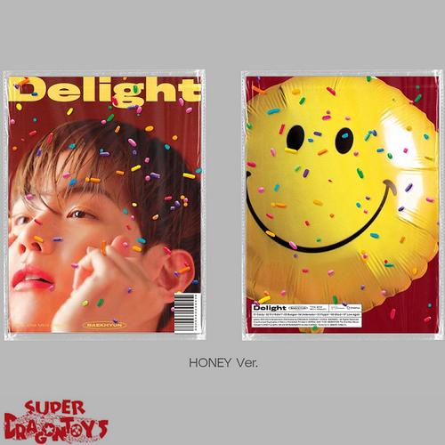 BAEKHYUN (백현) - DELIGTH - VERSION [B : HONEY] - 2ND MINI ALBUM
