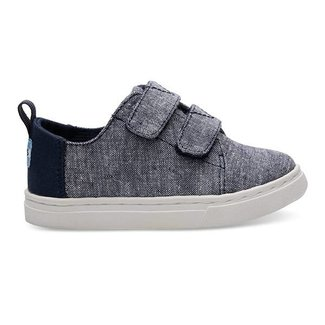 Toms Lenny Sneakers Chambray Navy