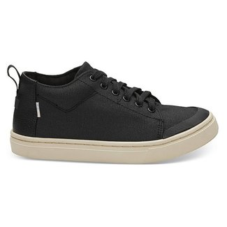 Toms Youth Lenny Black Canvas