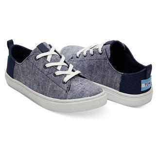 Toms Youth Lenny Sneakers Navy Chambray