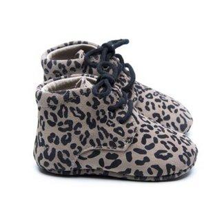 Mockies Classic Boots Leopard Grey