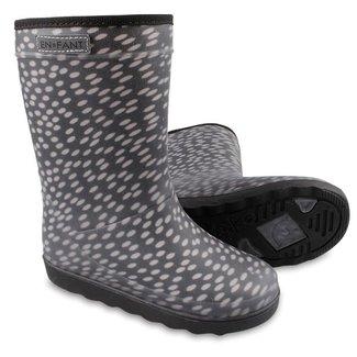 Enfant Winter Boots Black Dots