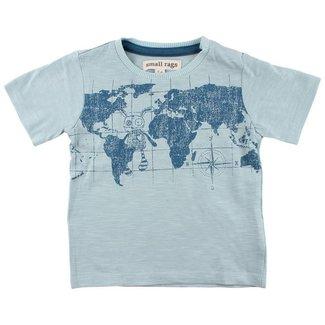 Small Rags T-Shirt World Gray Mist