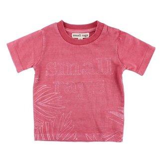 Small Rags T-Shirt Garnet Rose