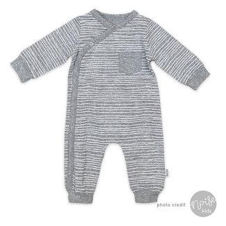 Bess Babypakje Pinstripe Grey