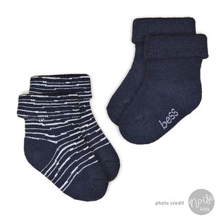Bess Sokjes Pinstripe Blue 2-Pack
