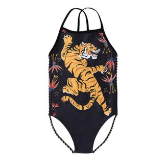 Little Miss Juliette Swimsuit Tiger Black