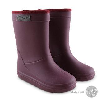 Enfant Winter Boots Bordeaux