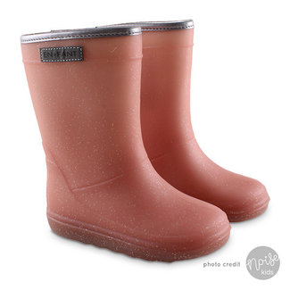 Enfant Winter Boots Metallic Rose