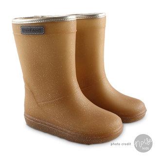 Enfant Winter Boots Metallic Gold