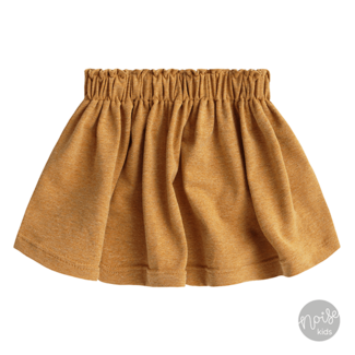 Your Wishes Skirt Solid Camel