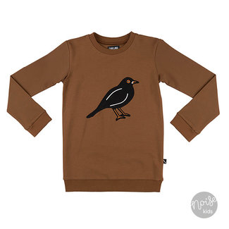 CarlijnQ Sweater Black Bird Brown
