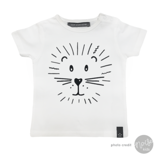 Your Wishes T-Shirt Lion Off White