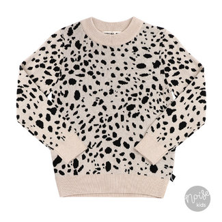 CarlijnQ Knitted Sweater Spotted Animal
