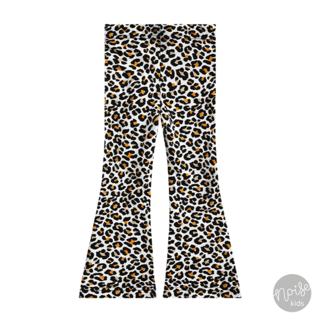 Your Wishes Flared Legging Leopard Mango