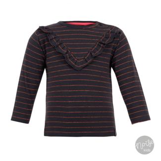 Beebielove Shirt Stripe Glitter