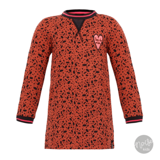 Beebielove Dress Leopard Rust
