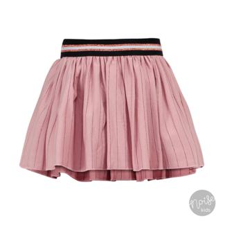 Beebielove Skirt Rose Stripe Glitter