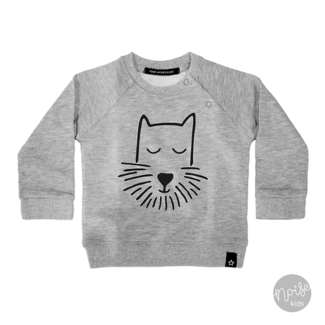 Your Wishes Sweater Puppy Light Grey