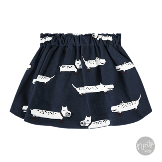 Your Wishes Skirt Puppy in the Park Blue