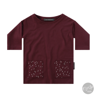 Your Wishes Tunic Rainy Wine Red