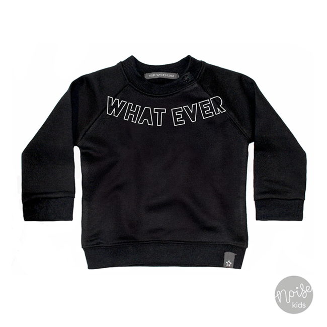 Your Wishes Sweater Whatever Black