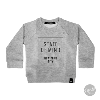 Your Wishes Sweater State of Mind Grey