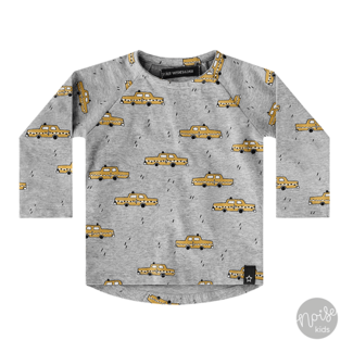 Your Wishes Raglan Shirt Yellow Taxi
