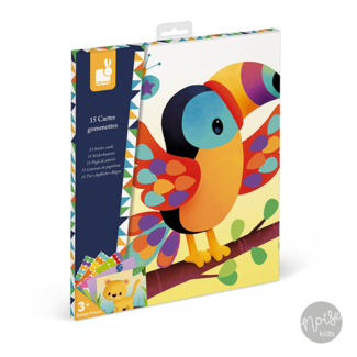 Janod Stickers Plakken Dierenkaarten
