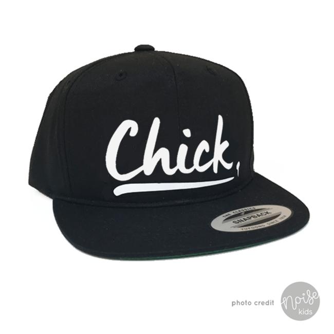 KMDB Snapback Chick Black
