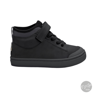 Toms Tiny Sneakers Cusco Smooth Black