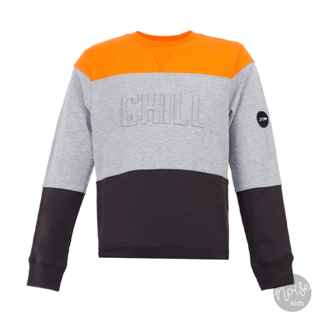 Jumping The Couch Sweater Chill Orange