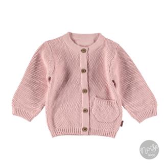 Bess Vestje Knitted Pink
