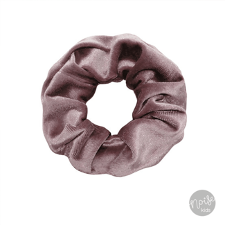 Your Wishes Scrunchie Velvet Old Purple
