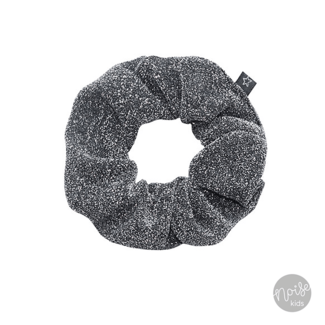 Your Wishes Scrunchie Silver Glitter