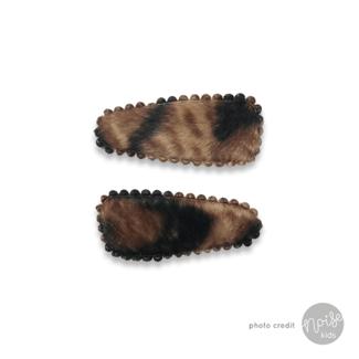 Haarclipjes Mini Fur Animal